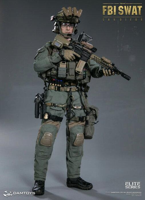 1/6 エリートシリーズ FBI SWATチーム エージェント サンディエゴ[DAMTOYS]【送料無料】《01月予約》