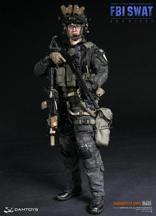 1/6 エリートシリーズ FBI SWATチーム エージェント サンディエゴ ミッドナイト OPS[DAMTOYS]【送料無料】《01月予約》
