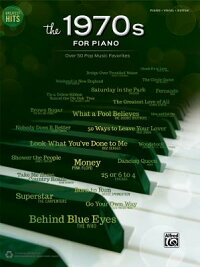 GreatestHits--The1970sforPiano:Over50PopMusicFavorites(Piano/Vocal/Guitar)[AlfredPublishing]