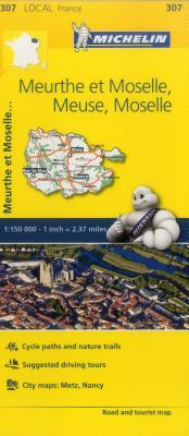 MichelinFrance:MeurtheEtMoselle,Meuse,MoselleMap307[ー]