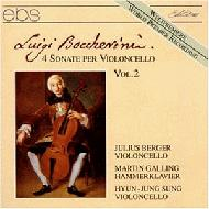 【輸入盤】CelloSonatasVol.2:J.berger(Vc),Etc[ボッケリーニ(1743-1805)]