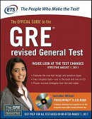 THE OFFICIAL GUIDE TO THE GRE REVISED GE