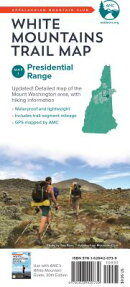AMC White Mountains Trail Map: Map 1: Presidential Range