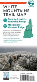 AMC White Mountains Trail Map: Map 3-4: Crawford Notch-Sandwich Range and Moosilauke-Kinsman