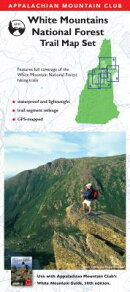 AMC White Mountain Guide Waterproof Map Set