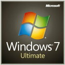Microsoft Windows7 Ultimate SP1 DSP版 DVD LCP 日本語 (64bit)