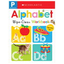 Wipe-Clean Workbook: Pre-K Alphabet(scholastic Early Learners)