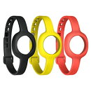 UP MOVE BY JAWBONE ONYX/YELLOW/RUBY SLIM STRAP - AP