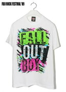【Tシャツ】Fall Out Boy /Ripped White (S)_ts販
