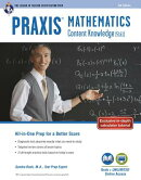 Praxis Mathematics: Content Knowledge (5161): Book + Online