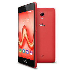 Wiko SIMフリースマートフォン Tommy 5.0'(HD IPS)/Flashy Red P4903JP-FLASHYRED