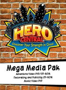 Vacation Bible School Vbs Hero Central Mega Media Pak: Discover Your Strength in God!