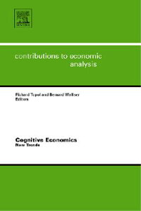 CognitiveEconomics:NewTrends[RichardTopol]
