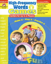High-FrequencyWords:Games,GradesK-1:LevelB:CentersforUpto6Players