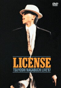 LICENSE-TSUYOSHINAGABUCHILIVE'87-[長渕剛]