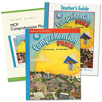ComprehensionPlusHomeschoolBundle,LevelB[WithParentGuideandTeacher'sGuide][ModernCurriculumPress]