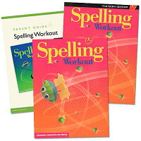 SpellingWorkoutHomeschoolBundle,LevelA[WithParentGuideandTeacher'sGuide][ModernCurriculumPress]