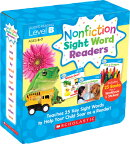 Nonfiction Sight Word Readers Parent Pack Level B: Teaches 25 Key Sight Words to Help Your Child Soa