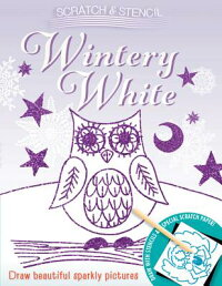 Scratch&Stencil:WinteryWhite[RunningPress]