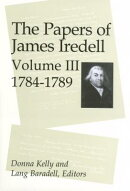 The Papers of James Iredell, Volume III: 1784-1789