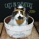 Cats in Sweaters Mini 2018: 16 Month Calendar Includes September 2017 Through December 2018