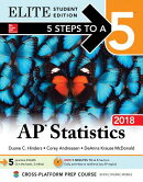 5 Steps to a 5 AP Statistics 2018 Elite Student Edition