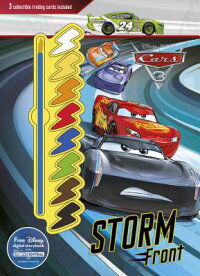 DisneyPixarCars3StormFront:3CollectibleTradingCardsIncluded[ー]