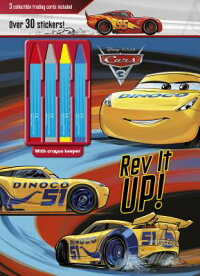 DisneyPixarCars3REVItUp!:3CollectibleTradingCardsIncluded[ー]