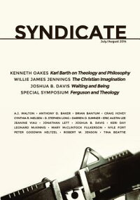 Syndicate,Volume1,Issue2:ANewForumforTheology[ChristianAmondson]
