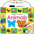 Animals: 26 Wipe-Clean Pages of Early Learning Fun [With Wipe Off Pen]