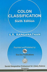 ColonClassification:BasicClassification[S.R.Ranganathan]