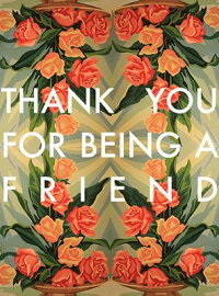 AFriend-GreetingCards,Pkgof6:Greeting:ThankYouforBeingaFriend(BlankInside)[HooliganRuth]
