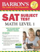 Barron's SAT Subject Test Math Level 1 , 5th Edition [With CDROM]