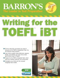 Writing for the TOEFL iBT [With MP3]