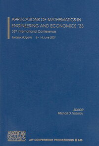 ApplicationsofMathematicsinEngineeringandEconomics'33:33rdInternationalConference