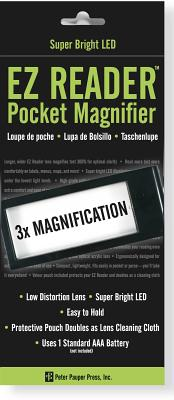 EZReaderLedPocketMagnifier[PeterPauperPress]