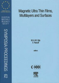 MagneticUltraThinFilms,MultilayersandSurfaces[M.A.Gijs]