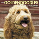 Just Goldendoodles 2018 Wall Calendar (Dog Breed Calendar)