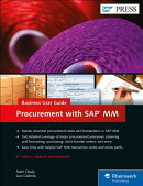 Procurement with SAP MM: Business User Guide