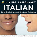 Living Language Italian Day-To-Day Calendar