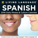 Living Language: Spanish 2016 Day-To-Day Calendar
