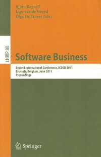 SoftwareBusiness:SecondInternationalConference,Icsob2011,Brussels,Belgium,June8-10,2011,
