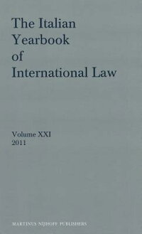 TheItalianYearbookofInternationalLaw,Volume21(2011)[BenedettoConforti]