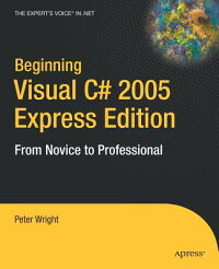 BeginningVisualC#2005:ExpressEdition[PeterWright]