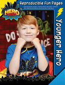 Vacation Bible School 2017 Vbs Hero Central Younger Hero Reproducible Fun Pages: Discover Your Stren