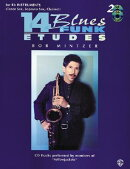 14 Blues & Funk Etudes 2: For B-Flat Instruments (Tenor Sax, Soprano Sax, Clarinet) [With 2 CDs]