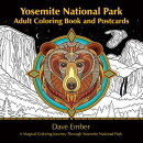 Yosemite National Park Adult Coloring Book and Postcards: A Magical Coloring Journey Through Yosemit