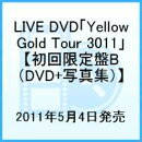 LIVE DVD「Yellow Gold Tour 3011」【初回限定盤B (DVD+写真集)】