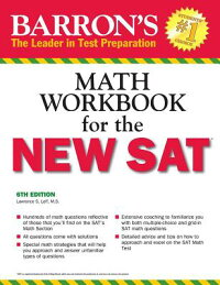 Barron'sMathWorkbookfortheNewSAT[LawrenceS.Leff]