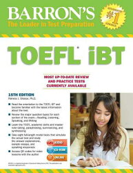 Barron's TOEFL Ibt with Two MP3 CDs and CD-ROM [With CDROM and 2 MP3 CDs]